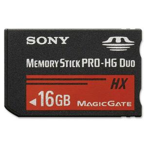 SONY MEM STICK PRO DUO HX16G READ UP TO50MB/S FLASH CARD