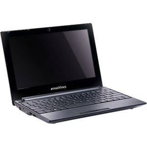 "eMachines eM355-131G25ikk 10.1"" LED Netbook - Intel Atom N455 1.66 GHz - Black LUNE50D001"