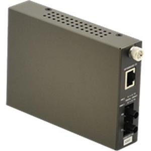 Amer Networks 10/100 Base T to 100 Base FX Multimode Fiber w/ ST Connector