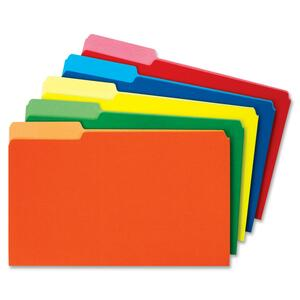 Globe-Weis Colored File Folder Single Top GLW26943