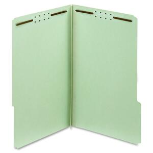 Globe-Weis 100% Recycled Pressboard Folder with Fastener GLW29944R