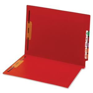 Globe-Weis End Tab Color Fastener Folder GLW45640GW