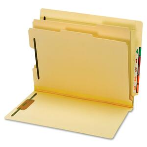 Globe-Weis Manila End Tab Classification Folder GLW23835