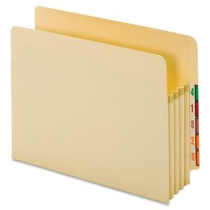 Globe-Weis End Tab File Pocket GLW65124
