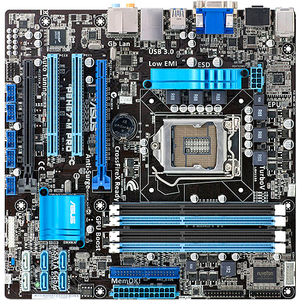 Asus P8H67-M PRO/CSM Desktop Motherboard - Intel H67 Express Chipset - Socket H2 LGA-1155 P8H67MPROCSMR3
