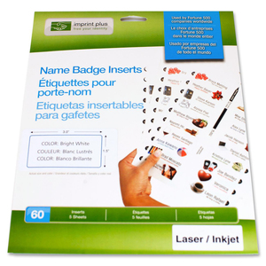 Imprint Plus Name Badge Insert IPP3188