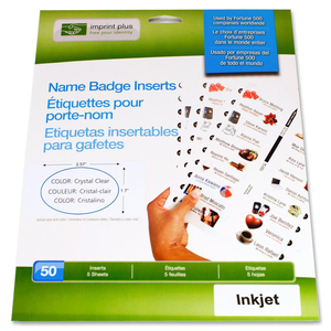 Imprint Plus Name Badge Insert IPP3195