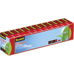 Scotch Eco-Friendly Transparent Tape MMM61212P