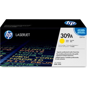HP 309A Yellow Original LaserJet Toner Cartridge HEWQ2672A