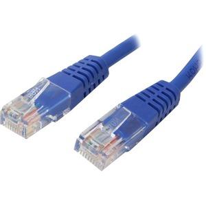STARTECH 8FT CAT5E RJ45 UTP NETWORK PATCH CABLE BLUE