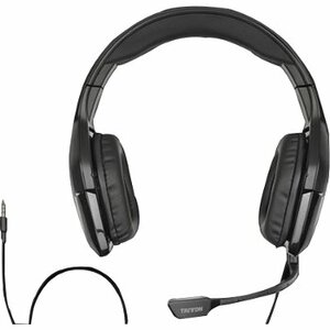 Tritton Detonator Stereo Headset for Xbox 360 - Stereo - Black - Mini-phone - Wired - 25 Hz - 20 kHz - Over-the-head - Binaural - Ear-cup - 14 ft Cable