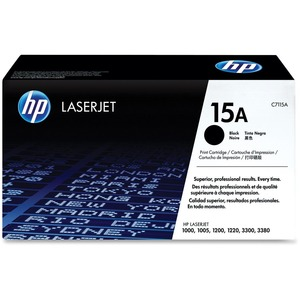 HP 15A Black Original LaserJet Toner Cartridge for US Government HEWC7115AG