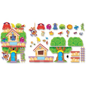 Trend Furry Friends Clubhouse Bulletin Board Set TEPT8313