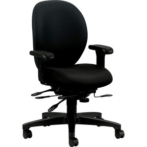 HON Unanimous H7628 Mid Back Managerial Chair HON7628CU10T