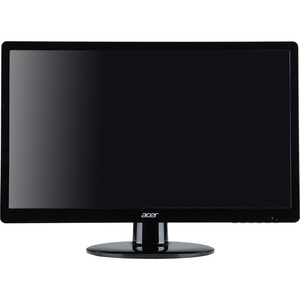 Acer S200HLABD 20IN 5MS LED Backlight Widescreen LCD Monitor 250CD/M2 100M:1 Black DVI VGA