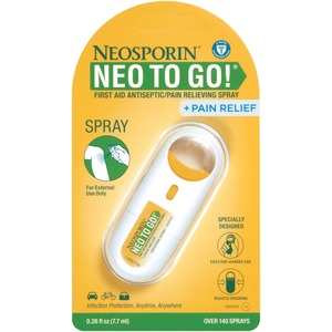 Neosporin NEO TO GO! First Aid Antiseptic/Pain Relieving Spray JOJ512372200