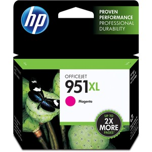 HP 951XL High Yield Magenta Original Ink Cartridge HEWCN047AN