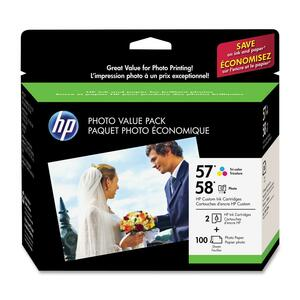 HP 57/58 Photo Value Pack Ink Cartridge HEWCR685AN