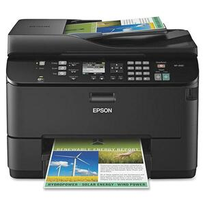 Epson WorkForce Pro WP-4530 Inkjet Multifunction Printer - Color - Photo Print - Desktop EPSC11CB33201
