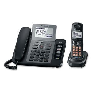 Panasonic Cordless Phone - 1.90 GHz - DECT 6.0 - Black PANKXTG9471B