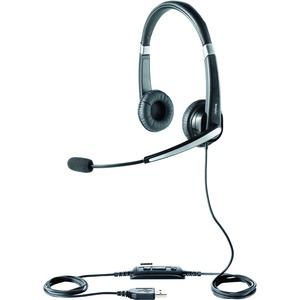JABRA - GN US JABRA UC VOICE 550 DUO UC HEADSET W/ MIC USB SOFT LEATHERETTE