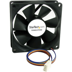 STARTECH 80X25MM COMPUTER CASE FAN WITH PULSE WIDTH MODULATION CONNECTOR