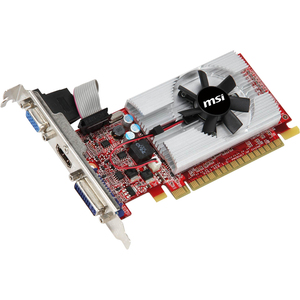 MSI GeForce GT 520 Fermi 810MHZ 2GB 1.0GHZ DDR3 Low Profile DVI HDMI HDCP PCI-E DirectX11 Video Card