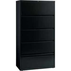 Lorell Receding Lateral File with Roll Out Shelves LLR43513