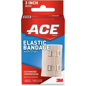 Ace Elastic Bandage with Clips MMM207314