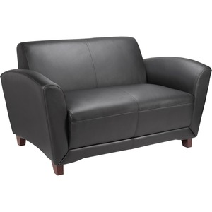 Lorell Bonded Reception Loveseat Sofa LLR68951