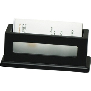 Victor Midnight Black Business Card Holder VCT11565
