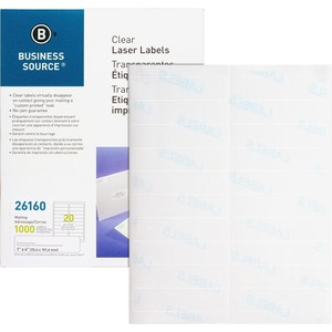 Business Source Mailing Label BSN26160