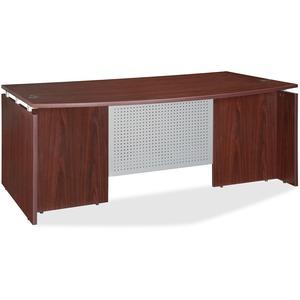 Ascent Bowfront Desk Shell