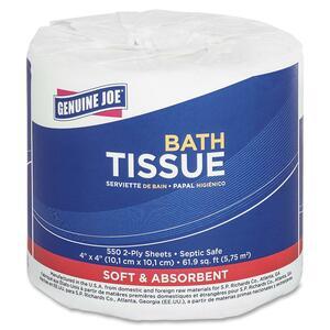 2-ply Septic Safe Bath Tissue