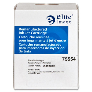 Elite Image Remanufactured Canon PGI35BK Inkjet Cartridge ELI75554
