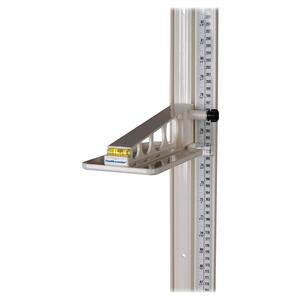 Health o Meter Professional Wall Mounted Height Rod HHMPORTROD