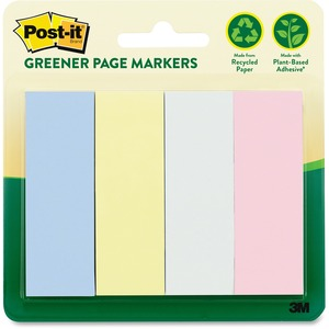 Post-it Greener Page Marker MMM6714RPA