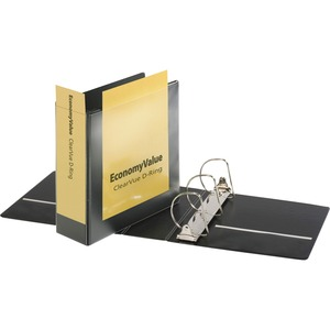Cardinal EconomyValue ClearVue Slant-D Ring Binder CRD90160