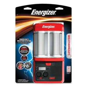Energizer Weather & Alert Radio EVEWRWS81BP