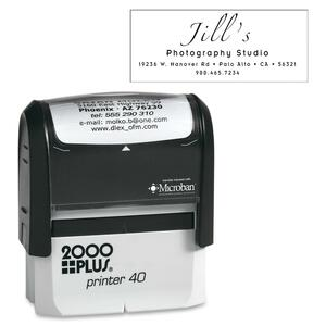 COSCO 2000 Plus P40 Printer Stamp COSP40