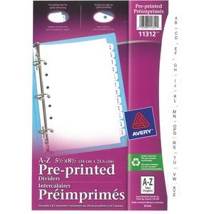 Preprinted Tab Divider