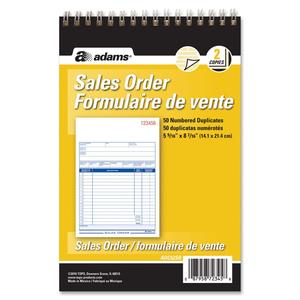 Sales Order Form Book