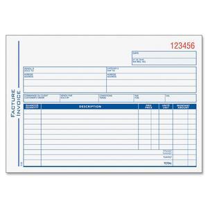 Twin Wire Invoice Book