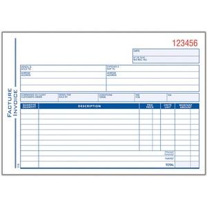Invoice Form Book