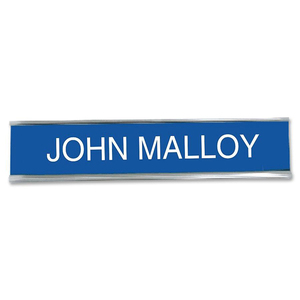 Do-It-Yourself Custom Desk/Wall Sign Name Plate