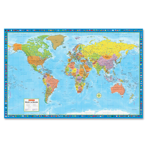 Super Large Wall Map