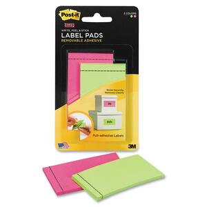 Post-it Super Sticky ID Label Pad MMM2900PGB