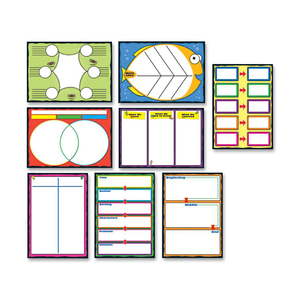 Carson-Dellosa Graphic Organizers Bulletin Board Set CDP110161