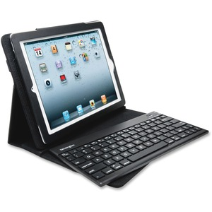 Kensington KeyFolio Pro 2 Keyboard/Cover Case (Folio) for iPad - Black KMW39512