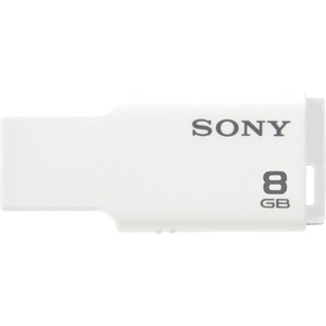 Sony 8GB USB Micro Vault TINY (White) SONUSM8GMW